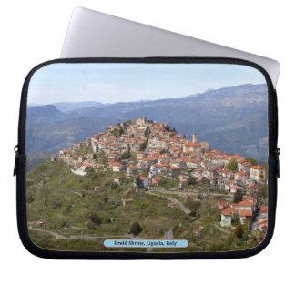 Druid Shrine, Liguria, Italy Laptop Sleeves