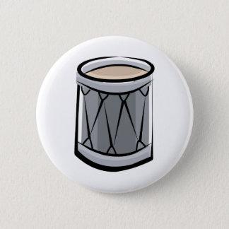 Drum 6 Cm Round Badge