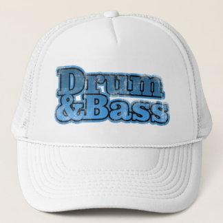 Drum and Bass Blue Trucker Hat