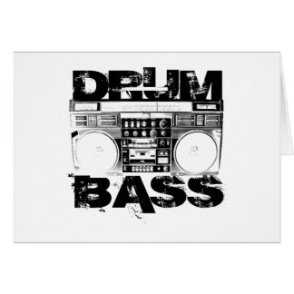 Drum and Bass Card