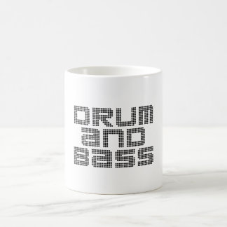 Drum and Bass Coffee Mug