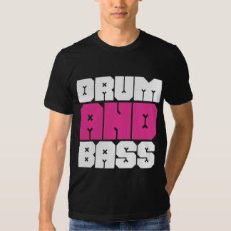 Drum and Bass Music T-Shirt