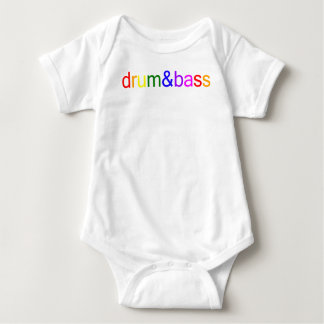 Drum and Bass Spectrum Baby Bodysuit