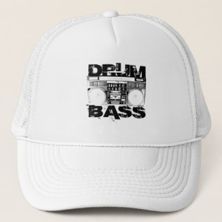 Drum and Bass Trucker Hat
