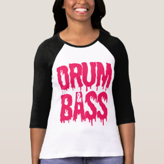 Drum & Bass Baseball T-shirt