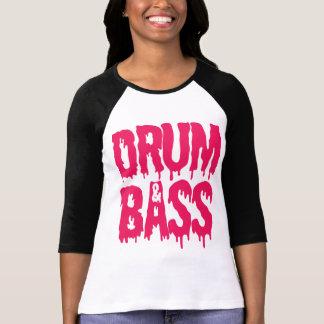 Drum Bass Baseball T-shirt