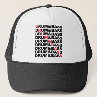 Drum & Bass Square Trucker Hat