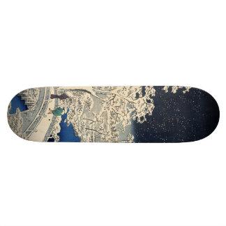 Drum Bridge at Meguro and Sunset Hill. Skate Board Decks