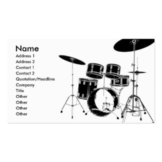 drum_edge pack of standard business cards