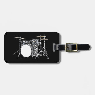 """Drum Kit 2"" design gifts and products Luggage Tag"