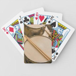 Drum Kit 3 Bicycle Playing Cards