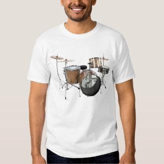 Drum Kit Drummer Rock Band Musician Gig Play Music T-shirt