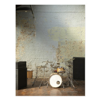Drum Kit Postcard