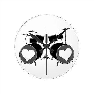 Drum Love Wallclocks