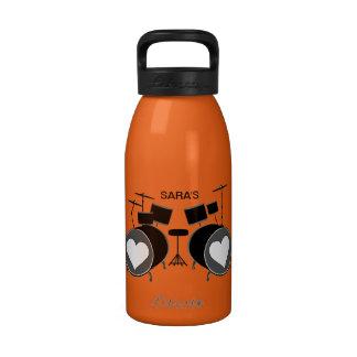 Drum Love Reusable Water Bottle