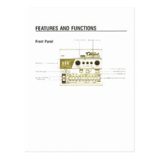 Drum Machine Post Cards