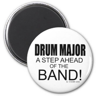 Drum Major A Step Ahead of the Band Fridge Magnets