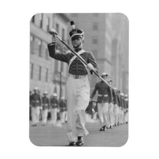 Drum Major Rectangular Photo Magnet