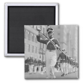 Drum Major Square Magnet