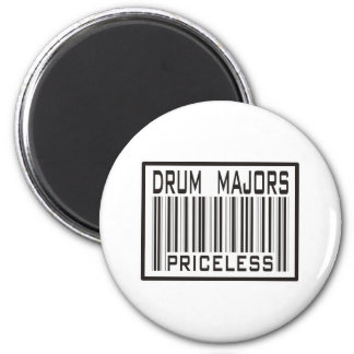 Drum Majors Priceless 6 Cm Round Magnet