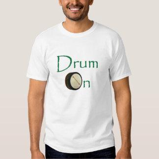 Drum On - Dark Wood Shirts