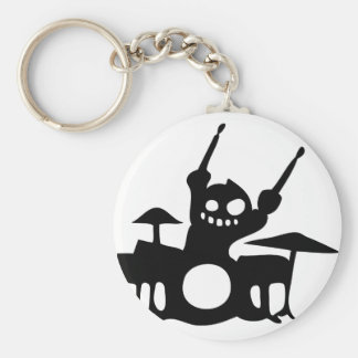 drum.png basic round button key ring