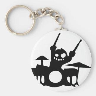drum.png basic round button key ring