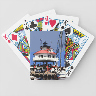 DRUM POINT LIGHT BICYCLE PLAYING CARDS