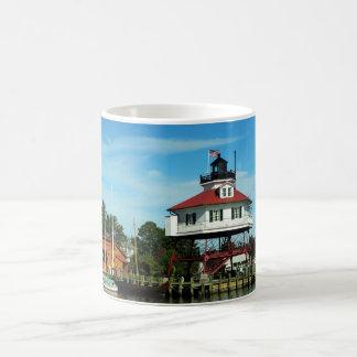 Drum Point Lighthouse Classic White Coffee Mug
