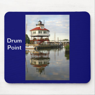 (Drum Point Lighthouse Mouse Mat