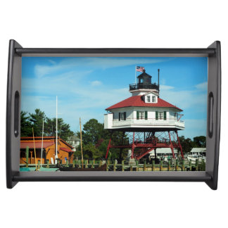 Drum Point Lighthouse Tray Food Tray