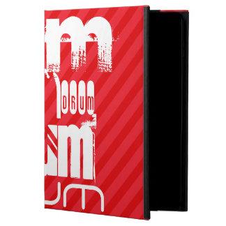 Drum; Scarlet Red Stripes iPad Air Covers