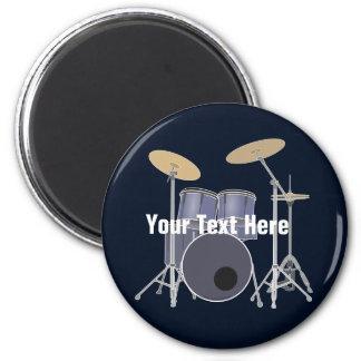 Drum Set 6 Cm Round Magnet