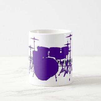 Drum Set Basic White Mug