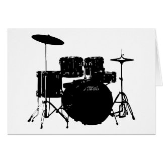 Drum Set Card