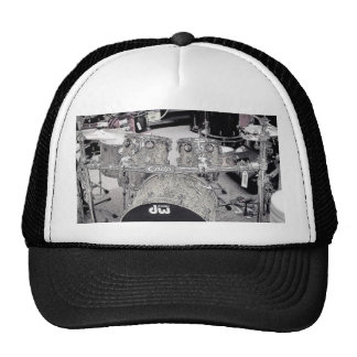 Drum set drawing cap