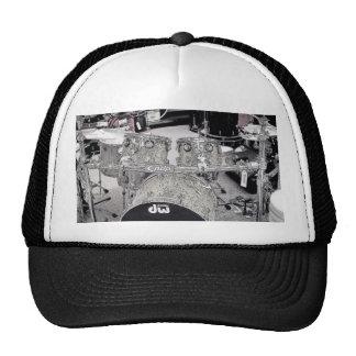 Drum set drawing hat
