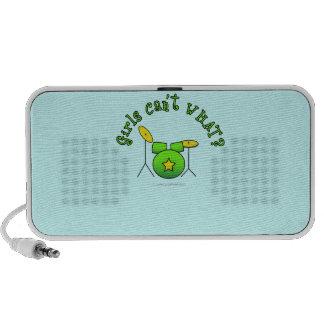 Drum Set - Green Mini Speakers