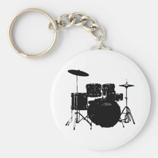 Drum Set Keychains