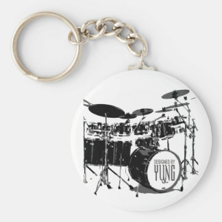Drum Set Key Ring