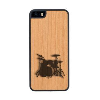 Drum Set Music Design Wood iPhone SE/5/5s Case