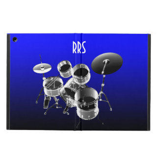Drum Set Personalized Monogram Gift iPad Air Cases