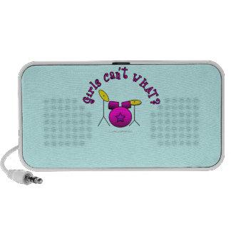 Drum Set - Pink Travelling Speaker
