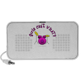Drum Set - Pink Mini Speakers