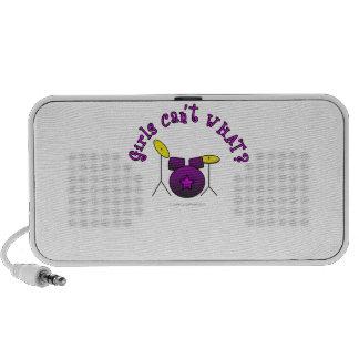 Drum Set - Purple iPhone Speakers