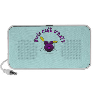 Drum Set - Purple Travel Speaker