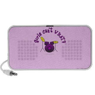 Drum Set - Purple Travelling Speaker
