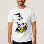 Drum, Skate, Smile Tshirt