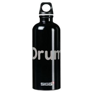 drum text grey music design SIGG traveller 0.6L water bottle