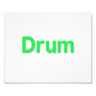 drum text mint music design photograph